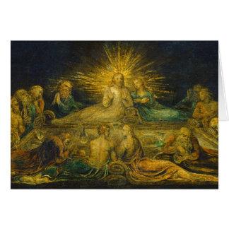 Cartão A última ceia, 1799 (tempera em canvas)