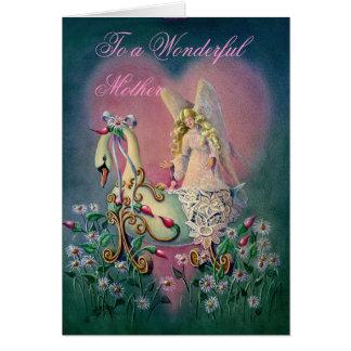 Cartão A uma mãe maravilhosa