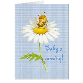 Cartão A vinda do bebê!