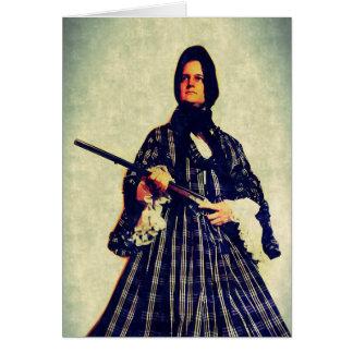 Cartão a viúva