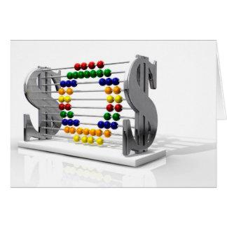 Cartão Ábaco do débito do SOS