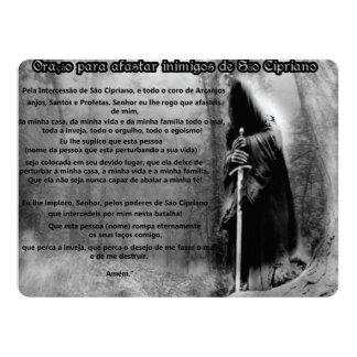 Cartão (abas arredondadas) São Cipriano