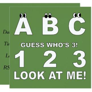 Cartão ABC olha quem é o impressão 3