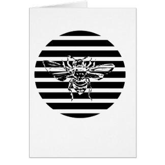 Cartão abelha