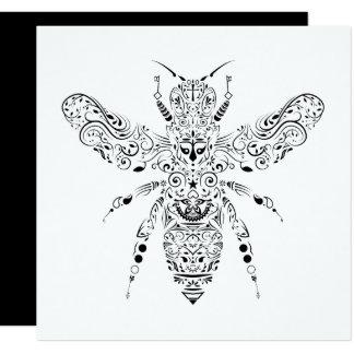 Cartão abelha bonita