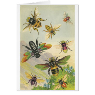 Cartão Abelhas