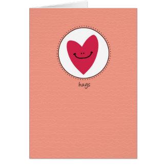 Cartão Abraços