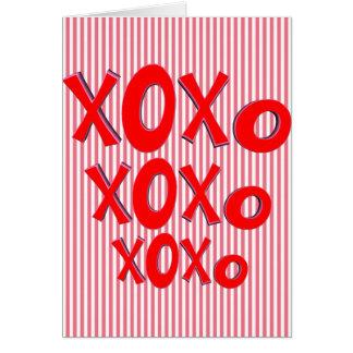 Cartão Abraços e beijos