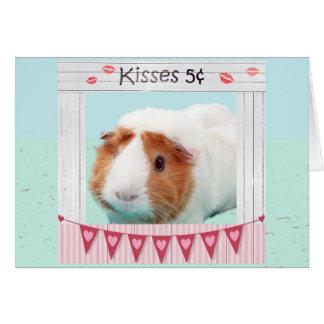 Cartão Abraços leitães e beijos