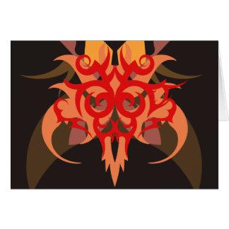 Cartão Abstracção seis Ares