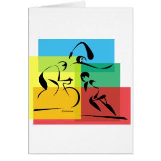 Cartão Abstrato 4 de Ironman