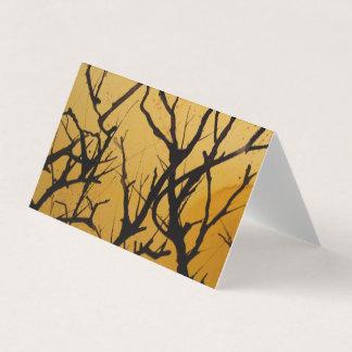 cartão abstrato da paisagem