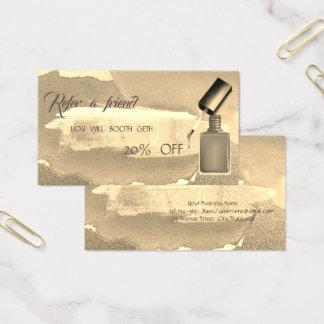 Cartão abstrato da referência de Strke da escova