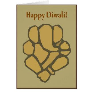 Cartão abstrato de Ganesh Diwali