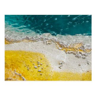 Cartão abstrato de Yellowstone