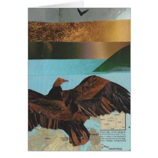 Cartão Abutre de turquia