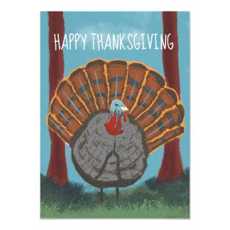 Cartão Acção de graças feliz Turquia