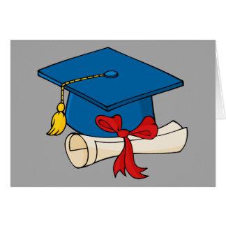 Cartão Aceitação da faculdade dos parabéns
