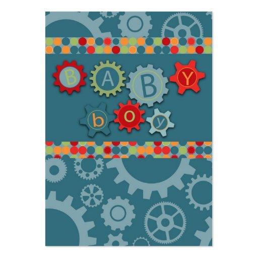 Cartão acessível do lembrete do menino cartoes de visita
