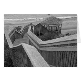 Cartão Acesso da praia, Bandon, Oregon