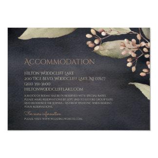 Cartão Acomodação rústica das hortaliças botânicas