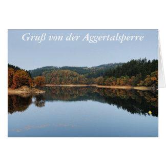 Cartão Acre a das Aggertalsperre