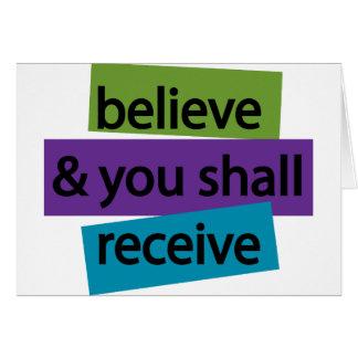 Cartão Acredite & você receberá II