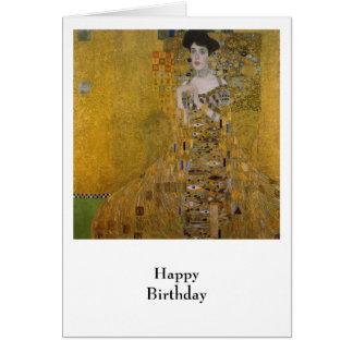 Cartão Adele Bloch Bauer por Gustavo Klimt