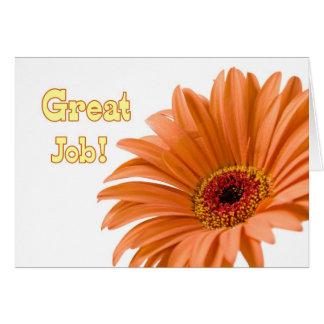 Cartão administrativo do dia dos profissionais da