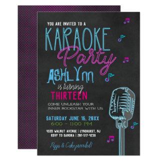 Cartão Adolescente/festa de aniversário adolescente do