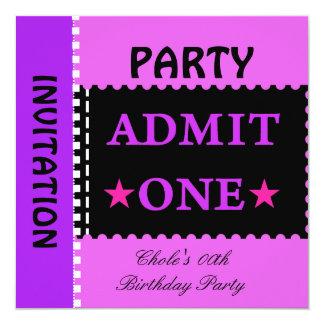 Cartão Adolescentes adolescentes das meninas de festa de