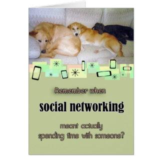 Cartão adorável do aniversário de três cães