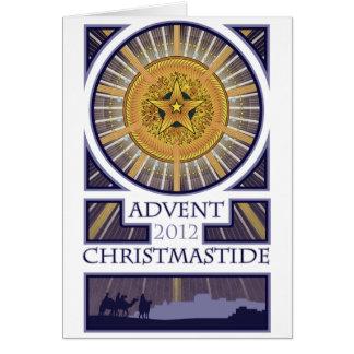 Cartão Advento - Natal 2012