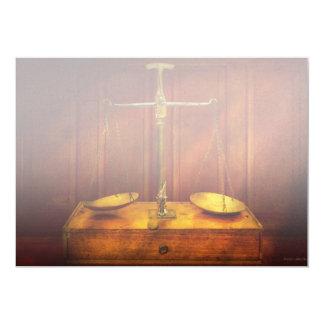 Cartão Advogado - escala desequilibrada de justiça