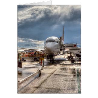 Cartão Aeroporto Inglaterra de Stanstead