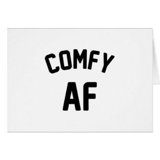 Cartão AF confortável