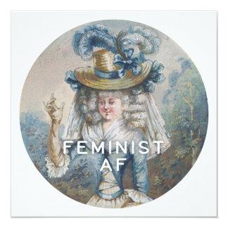 Cartão AF feminista