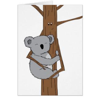 Cartão Afago do Koala