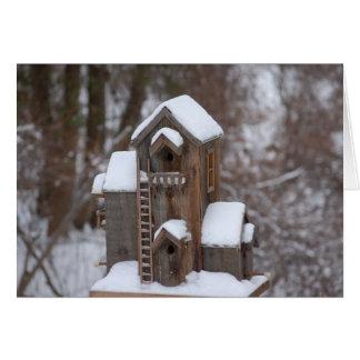 Cartão Afastado para o inverno