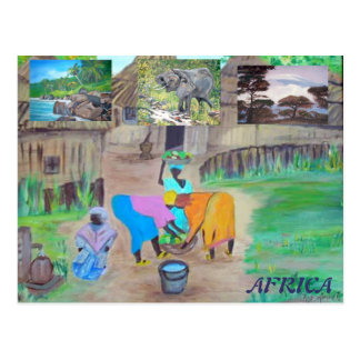 Cartão - África Cartão Postal