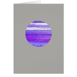 Cartão Ágata do planeta