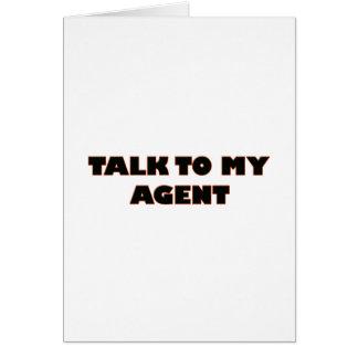 Cartão agente