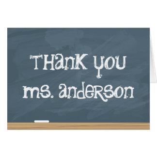 Cartão Agradeça a seu professor ou tutor! (adicione o
