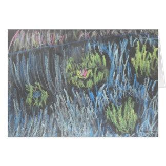 Cartão Água Lillies