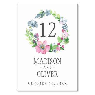 Cartão Aguarela de Boho floral & borboleta | que Wedding