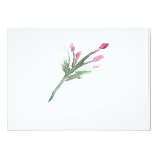 Cartão Aguarela floral