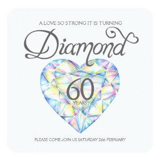 Cartão Aguarela tão forte do coração do amor do casamento