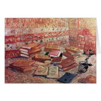 Cartão Ainda vida por Vincent van Gogh 1887
