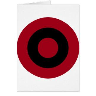 Cartão Albanês Roundel