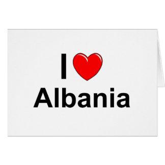 Cartão Albânia